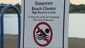 Contamination, heavy rainfall lead to record beach closings in Mpls.