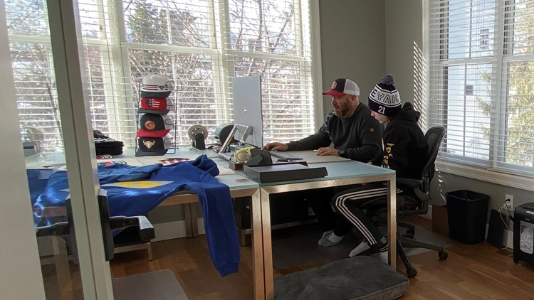 Local father and son create hockey apparel and bag line