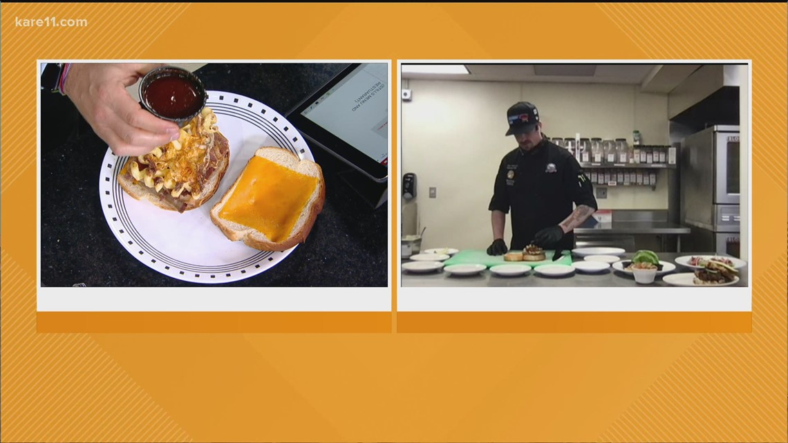 RECIPE: Brisket Mac Stack from CW's Bar and Grill