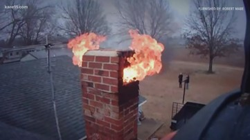 Cold snap is reminder to sweep chimneys