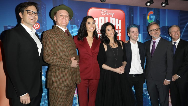 Phil Johnston at the London premiere of Ralph Breaks the Internet