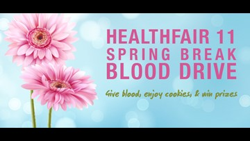 Blood donors invited to KARE 11 on March 14.