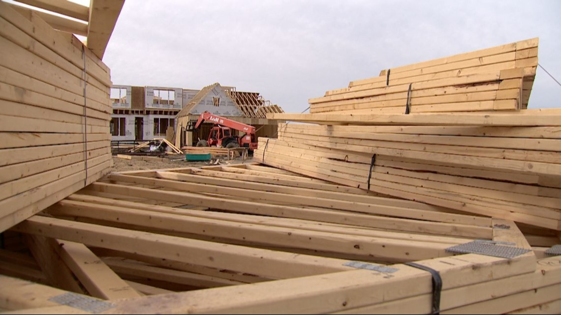Skyrocketing lumber prices adding to costs of Twin Cities construction