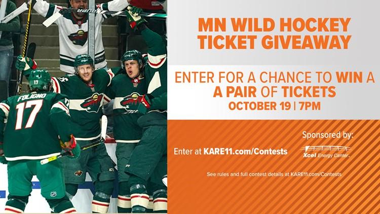 CONTEST: Minnesota Wild vs. Winnipeg Jets hockey game October 19th