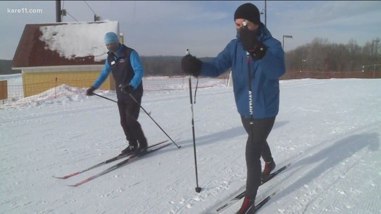 Winter Wonder: Cross country skiing