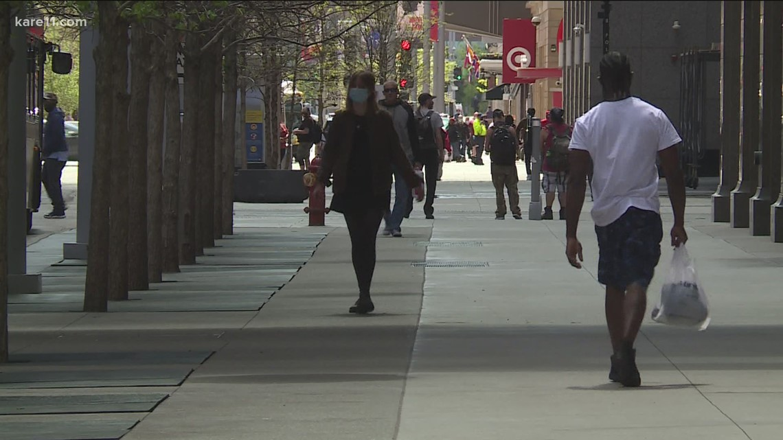 Downtown Minneapolis businesses seeing uptick in traffic