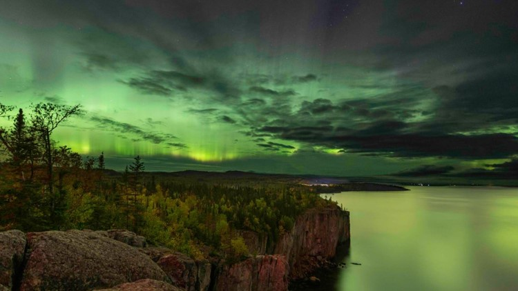 PHOTOS: Northern Lights visible in Minnesota
