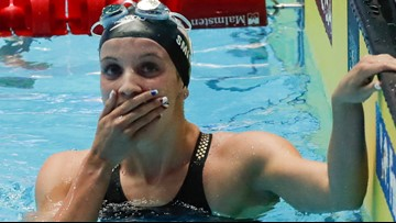 Lakeville teen breaks 200-meter backstroke world record, moves to finals