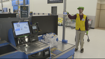 Walmart associate recognized for his generosity