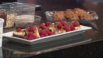 Substitute ingredients for healthier desserts