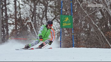 Skiers hit the slopes for Courage Kenny