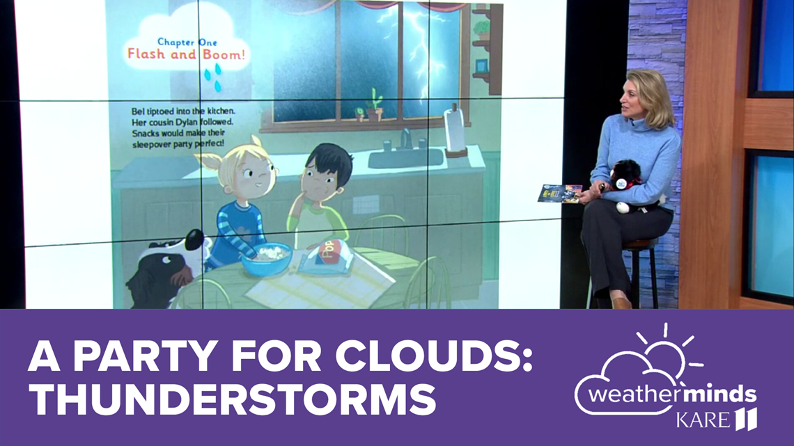 WeatherMinds Books: A Party for Clouds