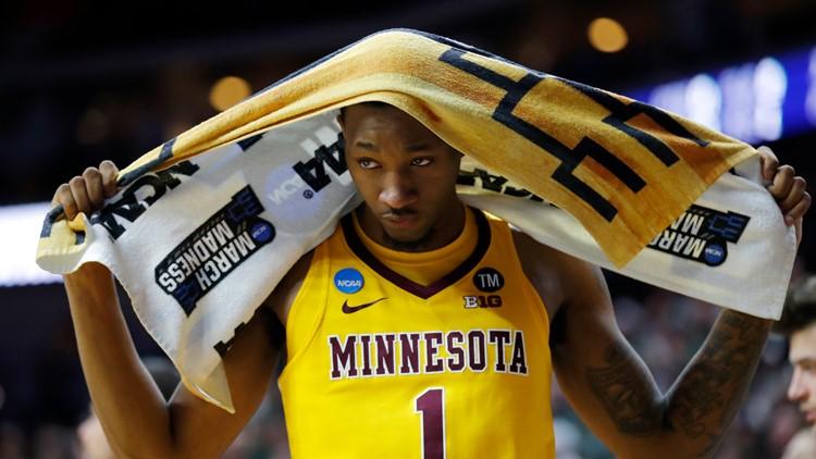 NCAA Minnesota Michigan St Basketball