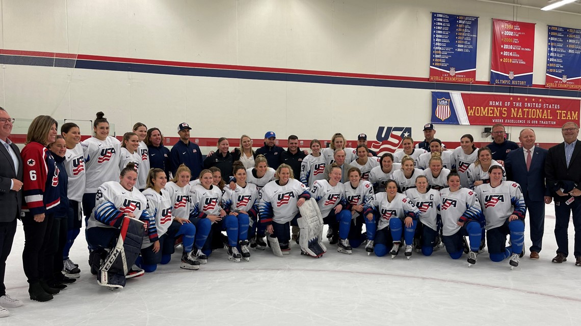 U.S. Women's national hockey team begins residency in Blaine