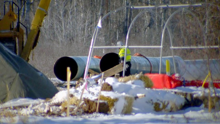 Line 3 pipeline work ramps up again