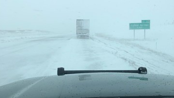 Snowy highways reopen in ND, but officials urge caution