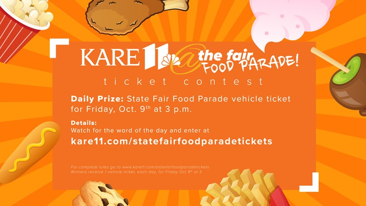 Contest Ended: Win tickets to the Minnesota State Fair Food Parade Round 2
