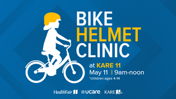 Get your kid's bike helmets checked