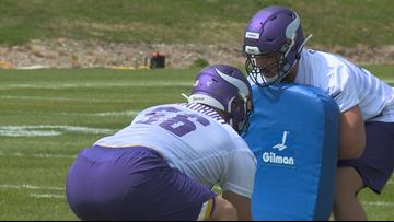 Bradbury, Samia impress at first day of Vikings rookie-camp