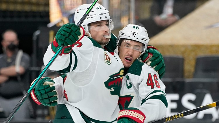 Wild slay Vegas 3-2 in shootout, end extended road skid