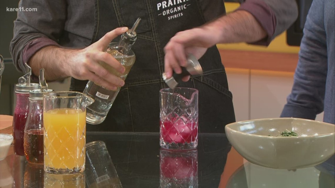 Sustainable holiday cocktails with Fig + Farro