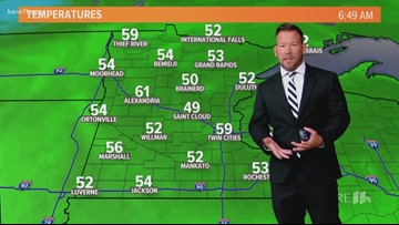 Late morning weather 8-19-2019
