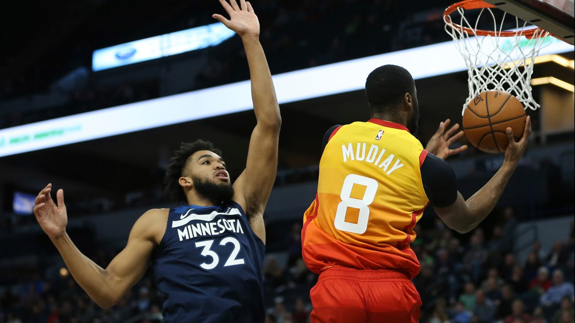 Mitchell, Jazz hand Wolves 6th straight loss