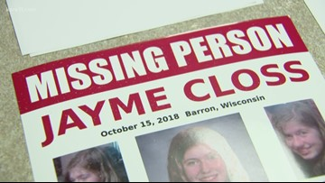 One year since disappearance of Jayme Closs