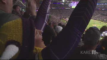 Vikings honor 100-year-old WWII veteran
