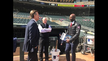 LaTroy Hawkins Behind the Scenes on Opening Day