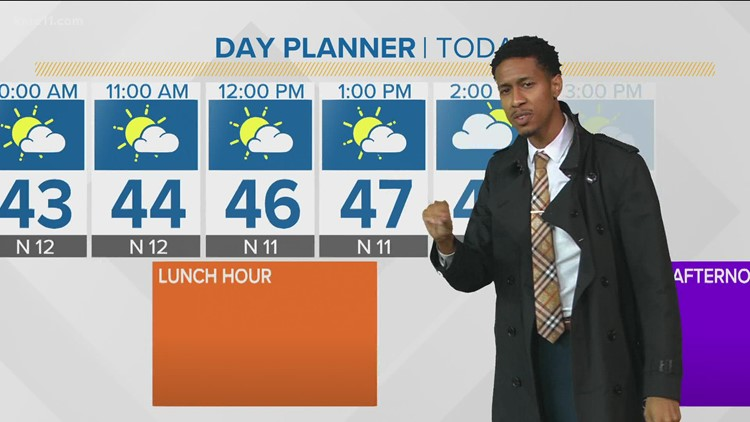 Late morning weather 10-21-2021