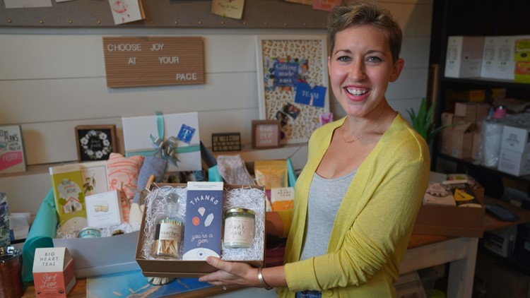Breast cancer survivor's business helps others find ways to show support