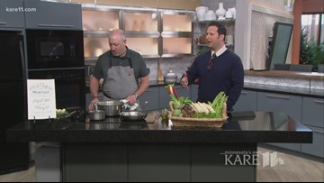Cooking Asparagus with Meritage