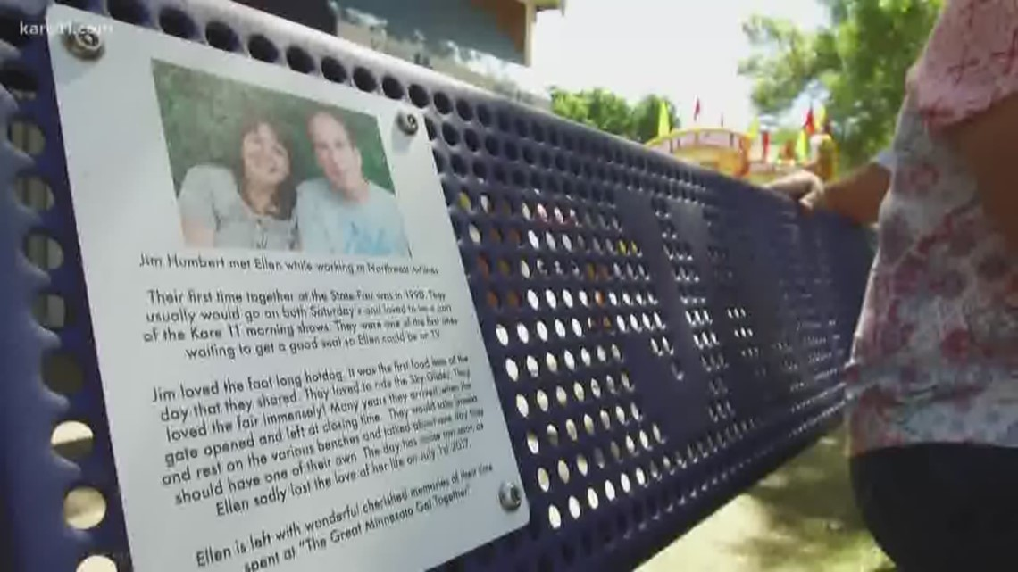 The meaning behind the State Fair memorial benches