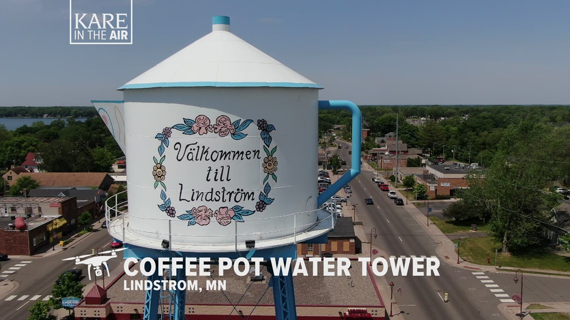 KARE in the Air: Lindstrom Coffee Pot
