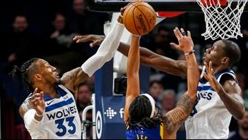 Timberwolves shut down Warriors