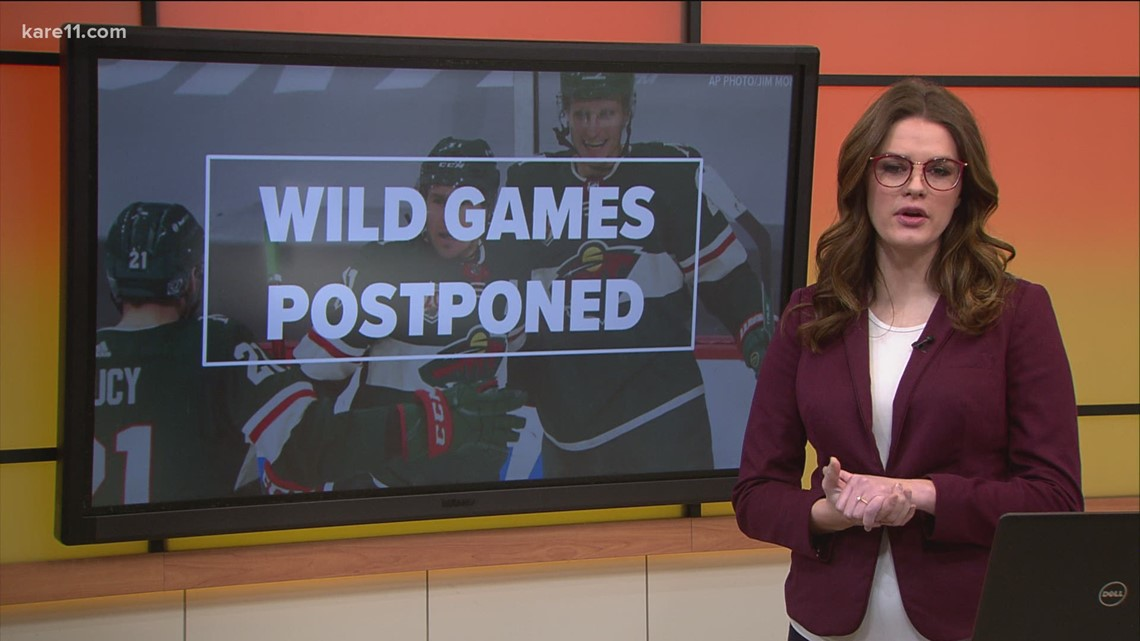 NHL pauses Wild season