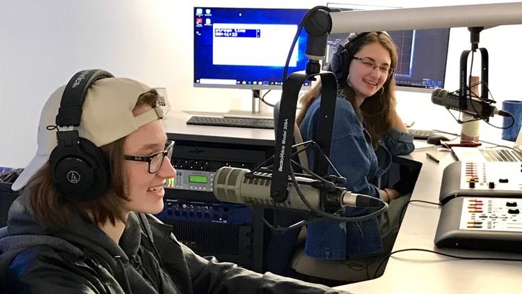 Nang Walter (left) and Jenn Walter, hosts of Dad Rock Radio.