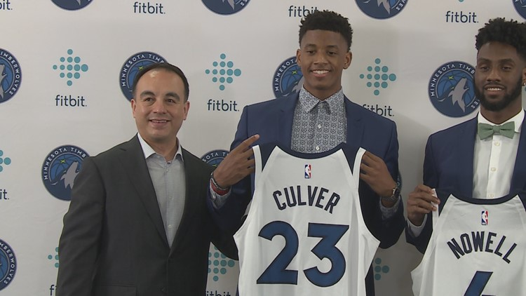 Timberwolves introduce top-pick Jarrett Culver, other rookies