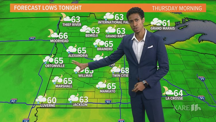 Midday weather 8-4-2021