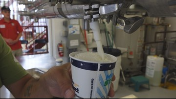 All-You-Can-Drink Milk Stand marks 65 years at the State Fair