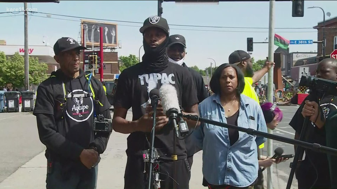 Agape Movement members touch on efforts to reopen George Floyd Square to traffic