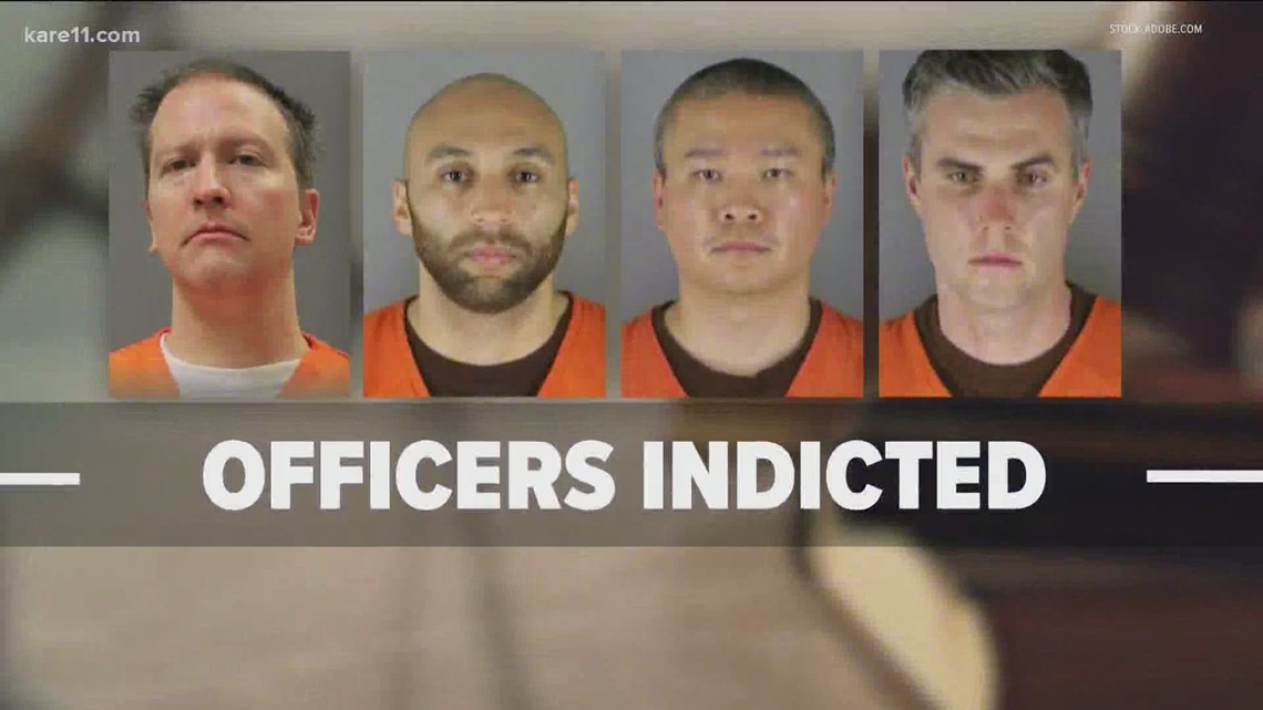 Former officers involved in George Floyd's death indicted by grand jury