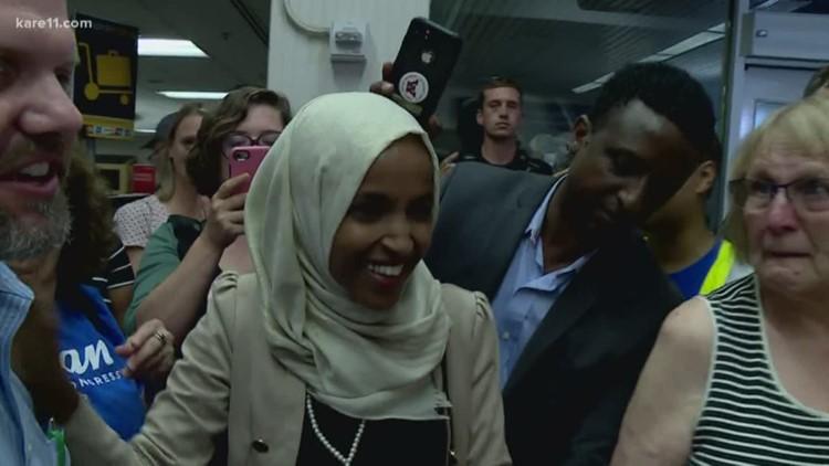 Digital Dive: Rep. Omar returns to Minnesota after wild week in Washington
