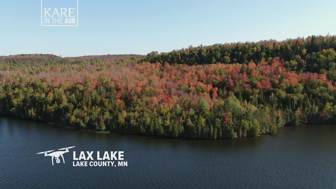 KARE in the Air: Lax Lake leafscape