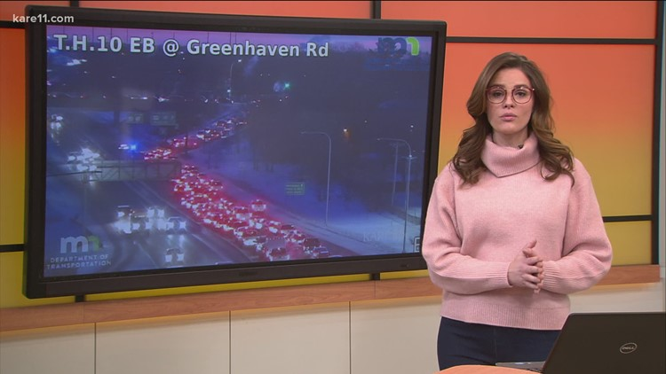 Crashes across metro make for messy morning commute