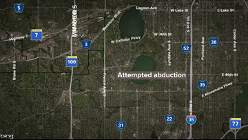 MPD searching for attempted child abduction suspect