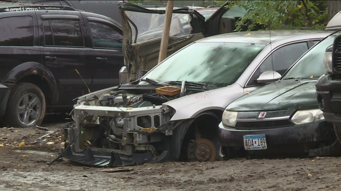 Salvage yards see boost in business with fewer new cars on the market