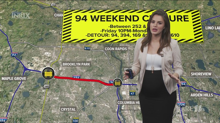 Major road projects to challenge drivers this weekend