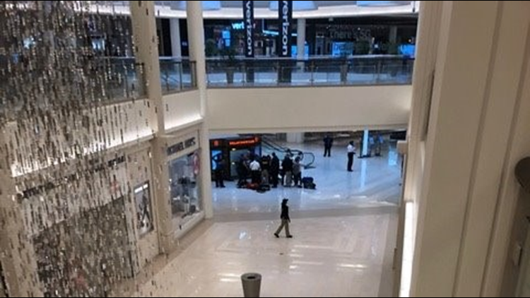Mall of America scene where child was pushed